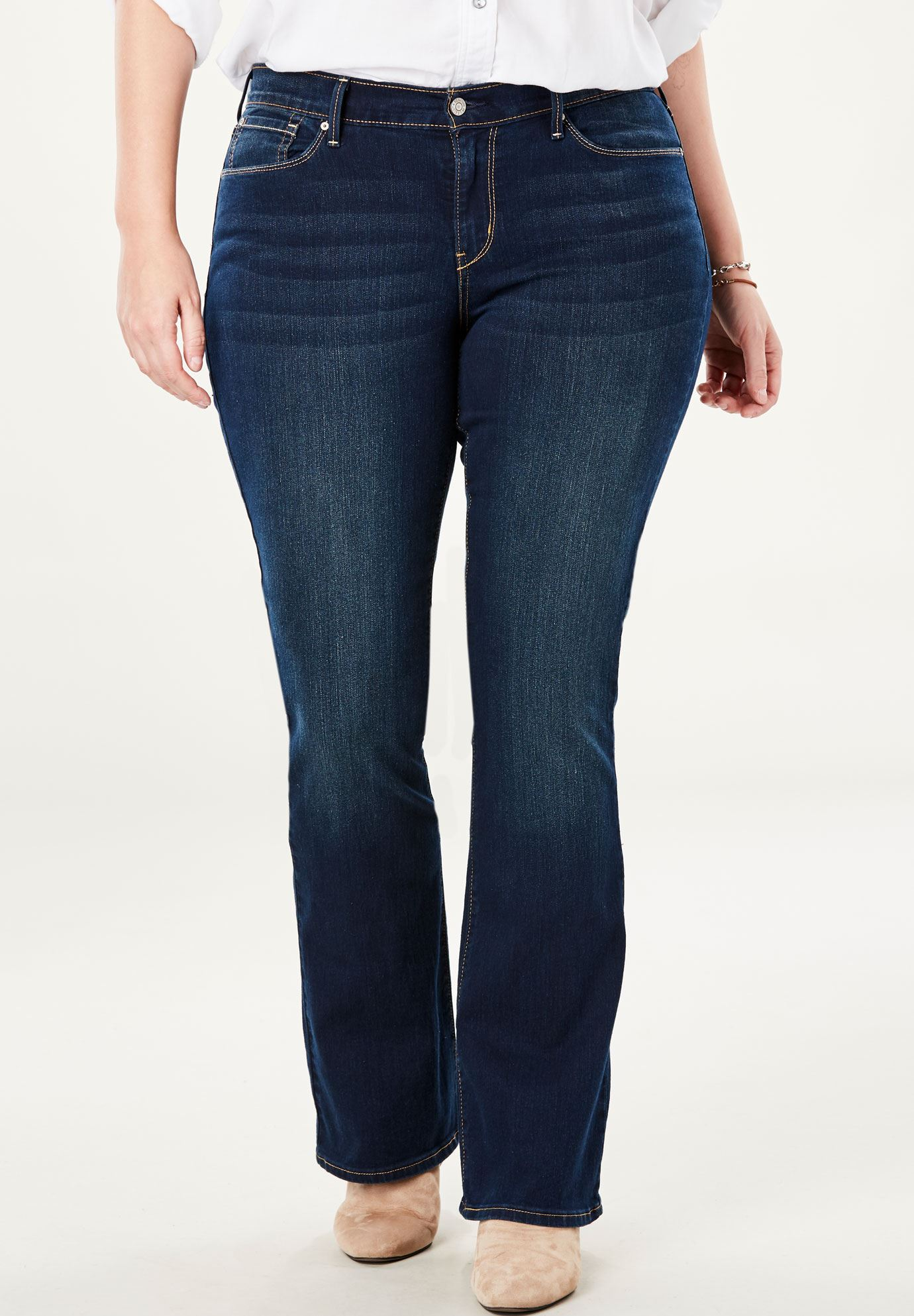 levis-petite-curvy-bootcut-jeans