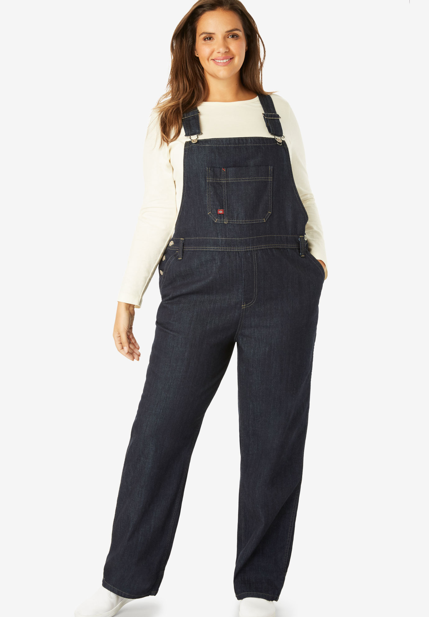 Relaxed Fit Straight Leg Bib Overall by Dickies®,