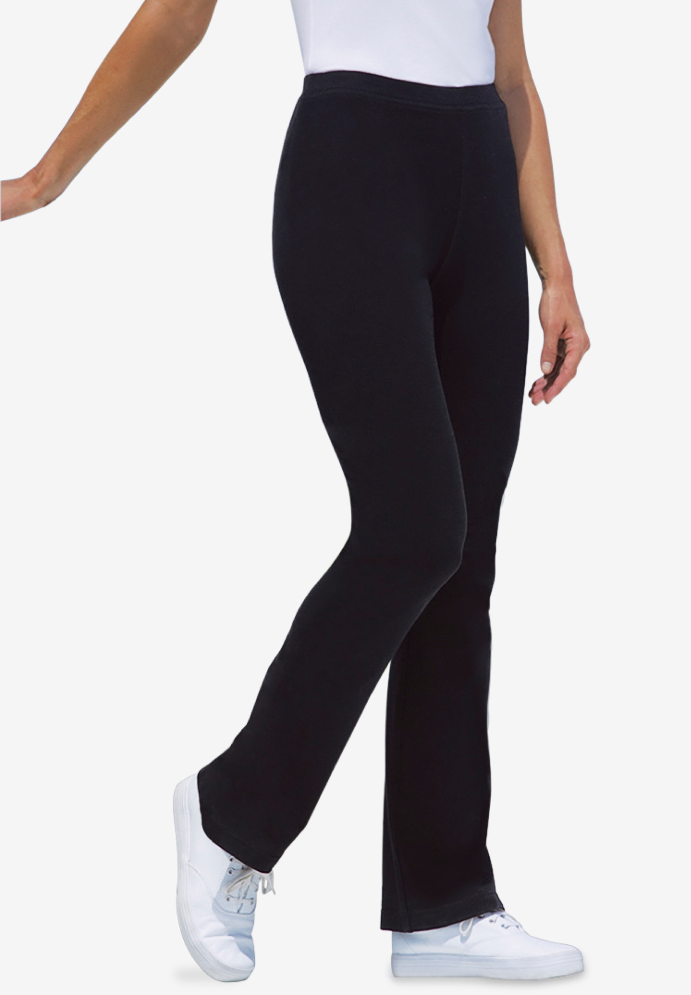 ca4b2a4a01 Stretch Cotton Bootcut Yoga Pant