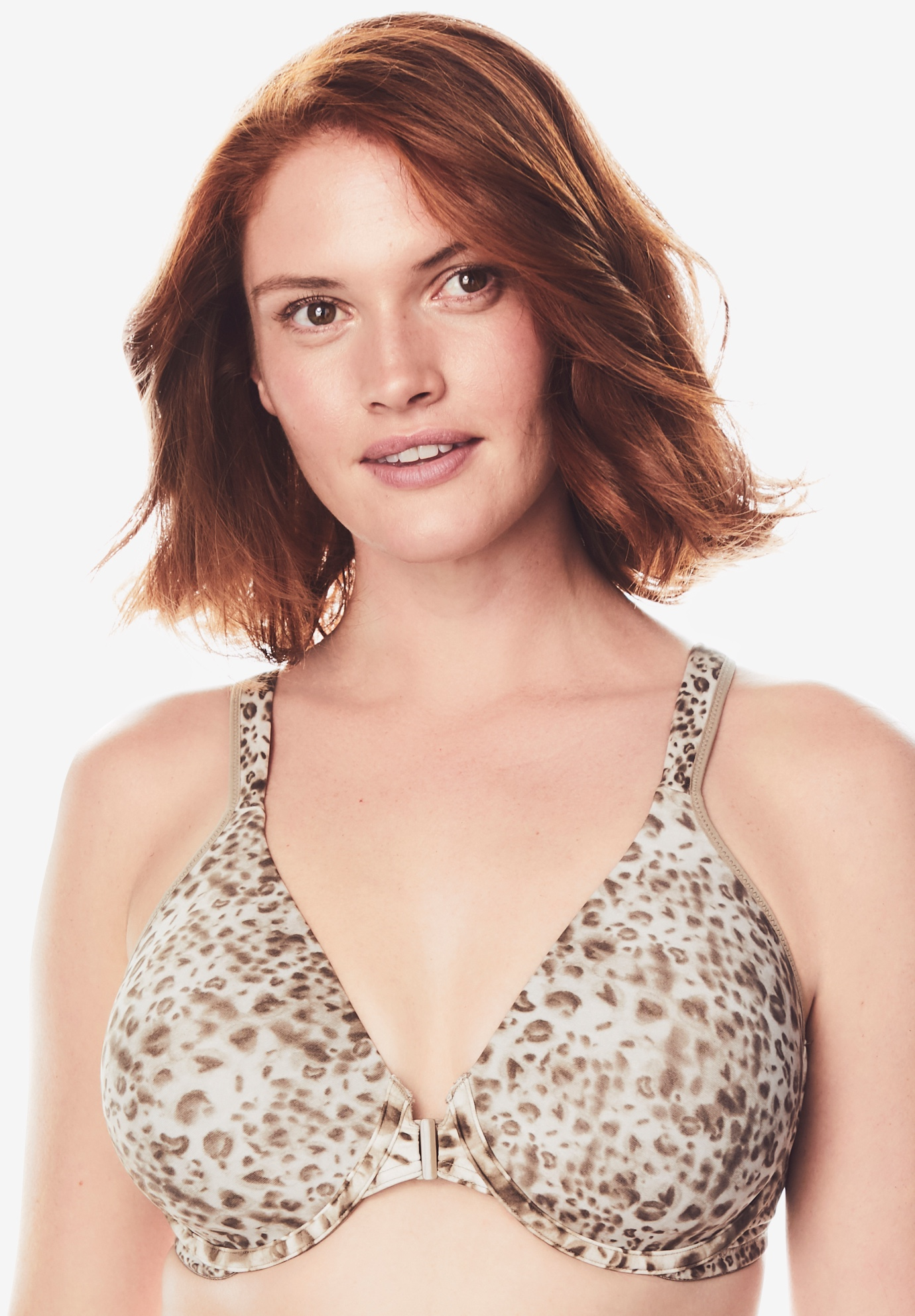 Leading Lady The Brigitte Lace Wirefree Padded Comfort Bra 5215