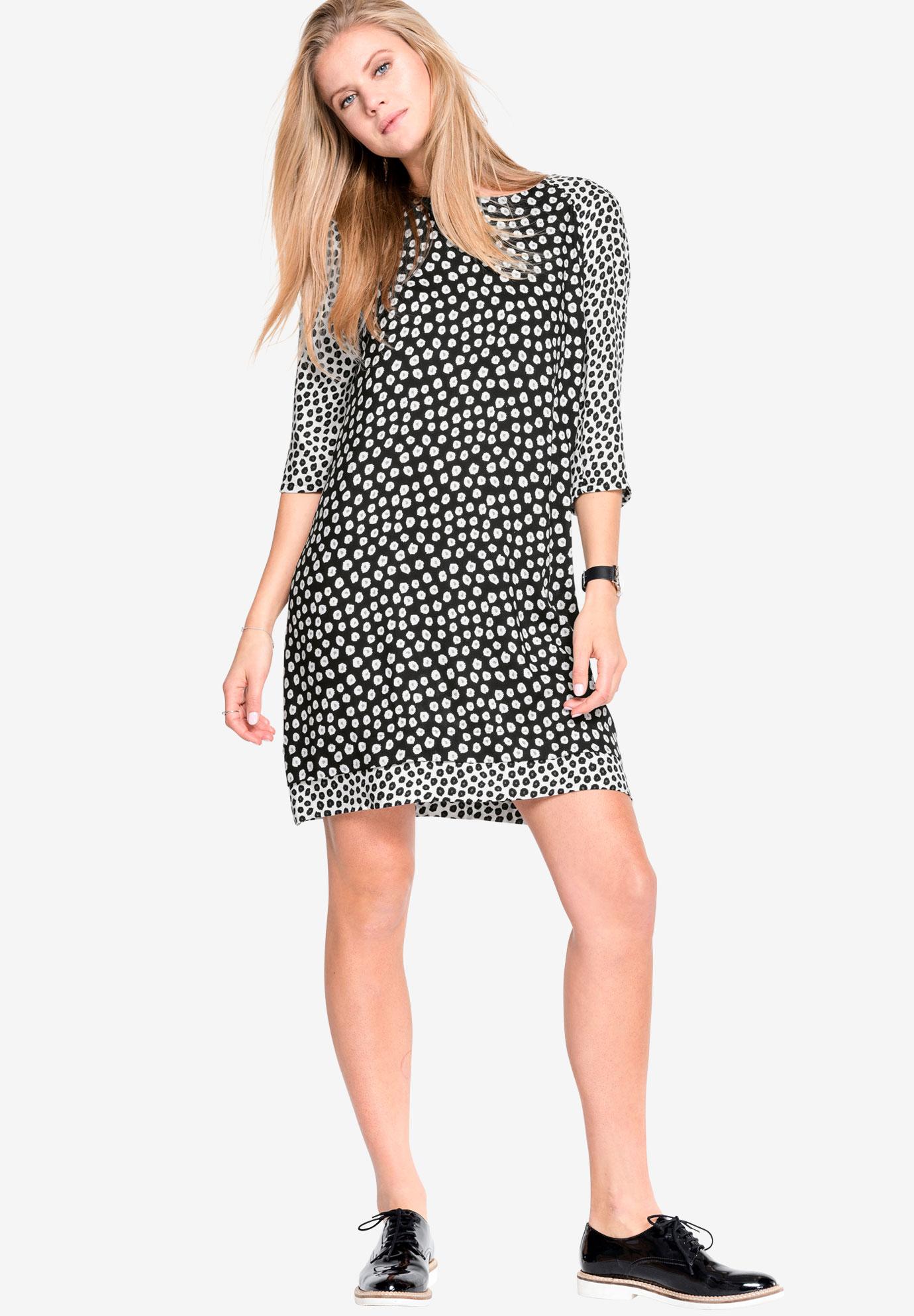 Printed Shift Dress by ellos®