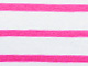 Striped Boatneck Tee by ellos®, WHITE PASSION PINK STRIPE, swatch