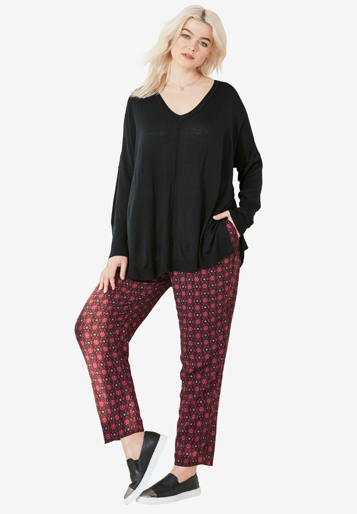 Woven Soft Pants by ellos®,