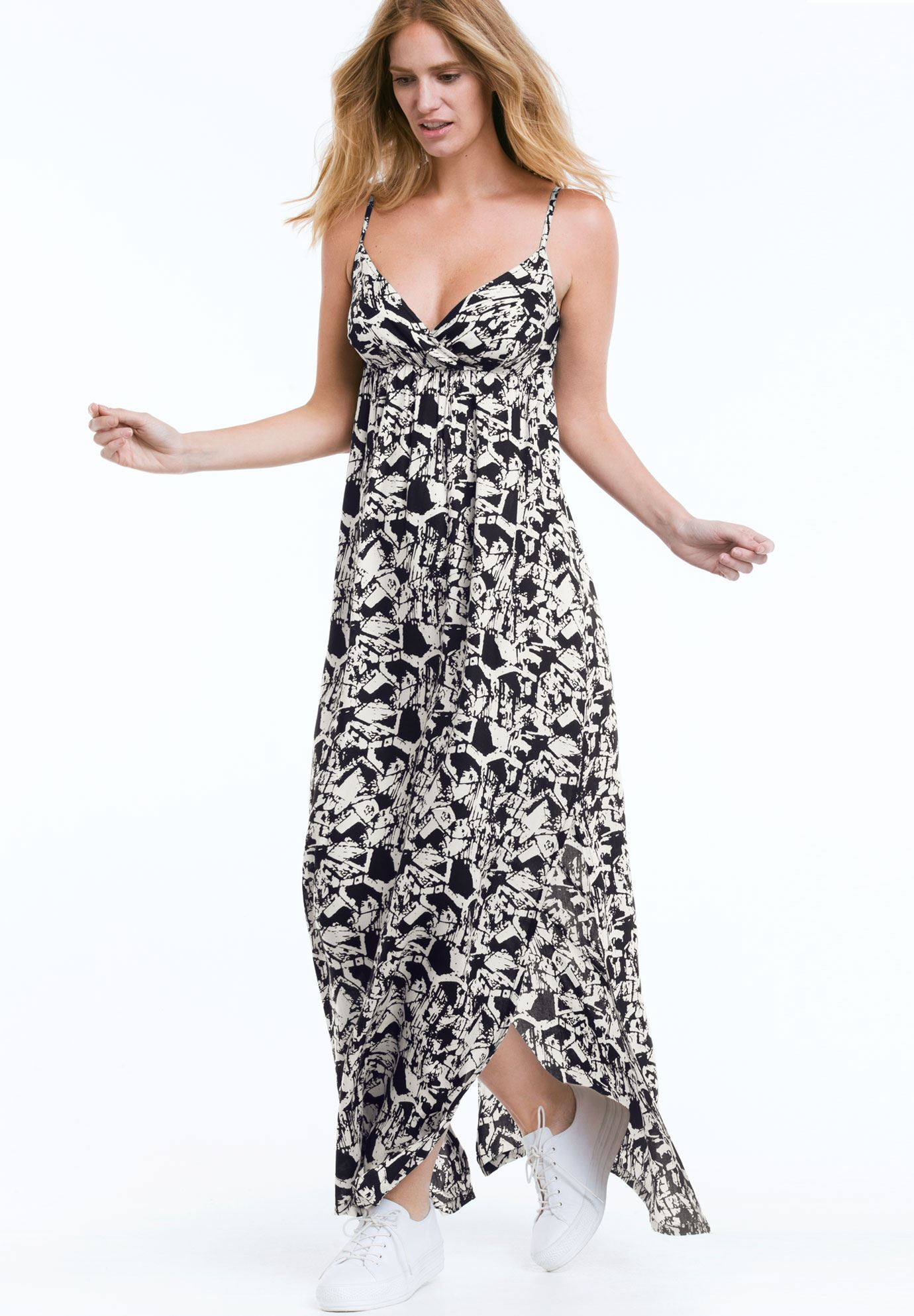 Carmen Woven Maxi Dress by ellos®,