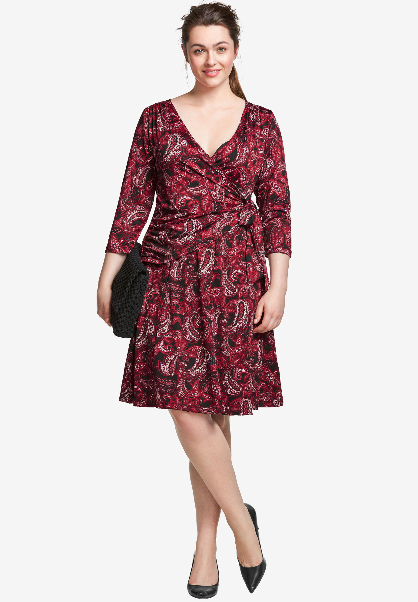 Sophia Wrap Dress by ellos®,