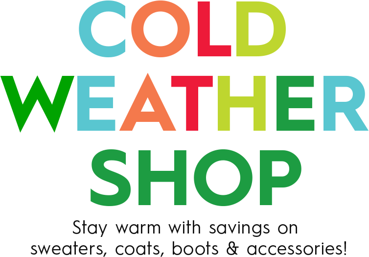 Cold Weather Shop - Stay warm with savings on sweaters, coats, boots & accessories! Save up to $110!