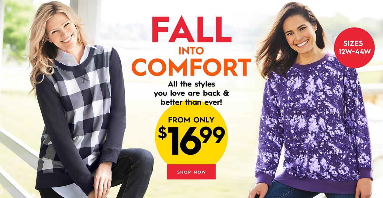 Fall Into Comfort