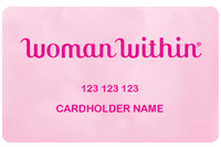 Woman Within Credit Card